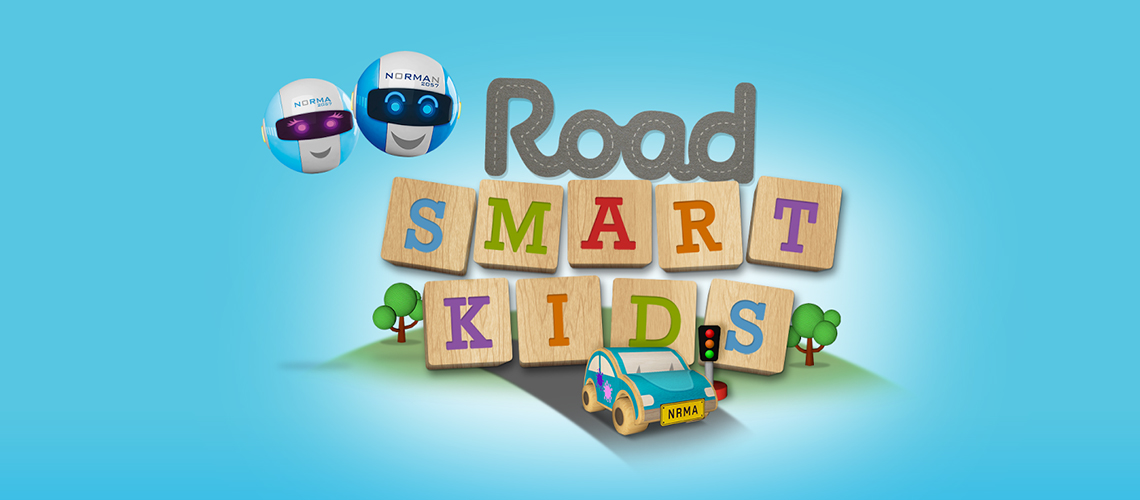 NRMA Road Smart Kids App | Motoring education