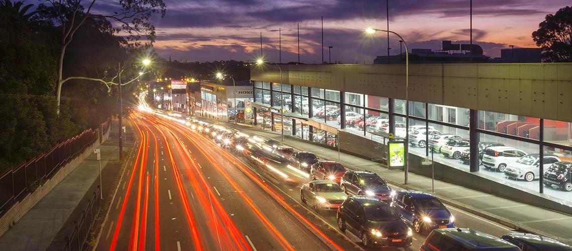 Car dealership in Sydney