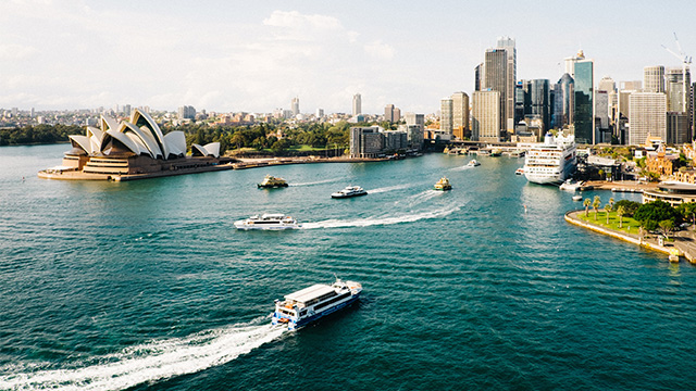 Sydney Harbour - Photo by Dan Freeman on Unsplash