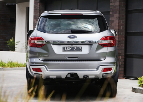 Ford Everest Trend RWD rear