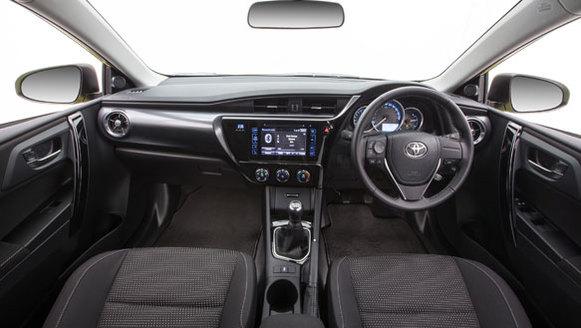 2015 Toyota Ascent Sport Interior