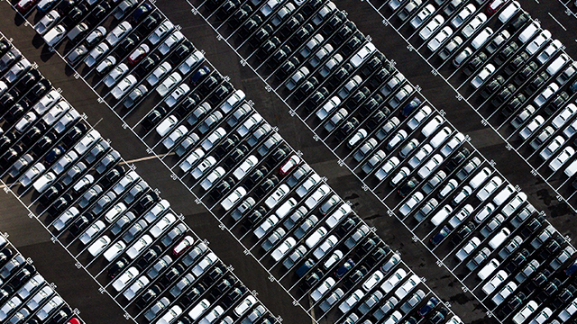 Full Parking Lot Photo by Ryan Searle on Unsplash