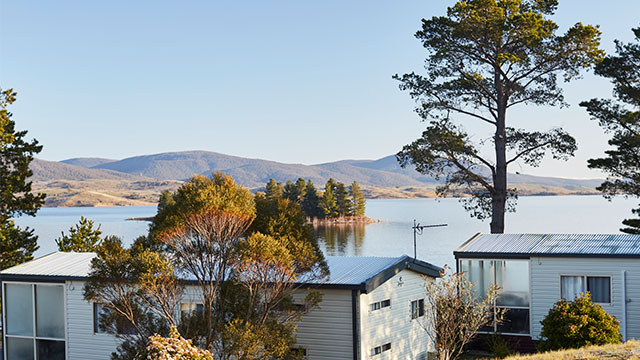 Lakeview cabin Jindabyne Holiday Park NSW my nrma local guides