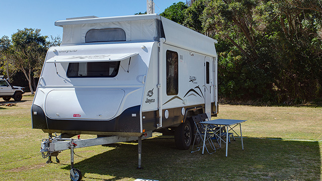 Powered Site Grassy Head Holiday Park Macleay Valley Coast Holiday Parks NRMA Holiday Parks and Resorts NSW