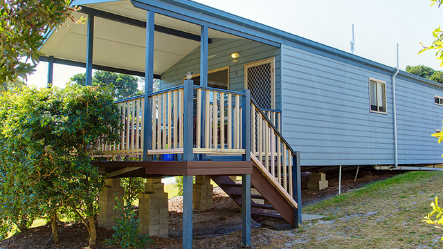 Creek Ridge Spa Cabin Hat Head Holiday Park Macleay Valley Coast Holiday Park NRMA Holiday Parks and Resorts NSW