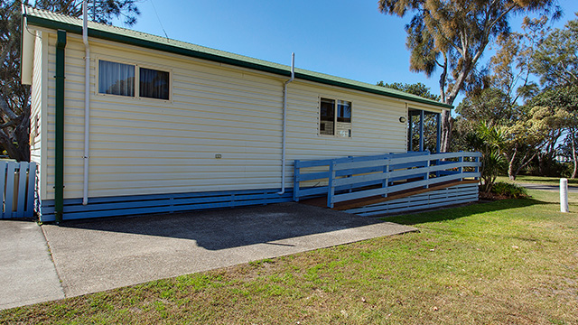 Accessible Bungalow Stuarts Point Holiday Park NRMA Holiday Parks and Resorts NS