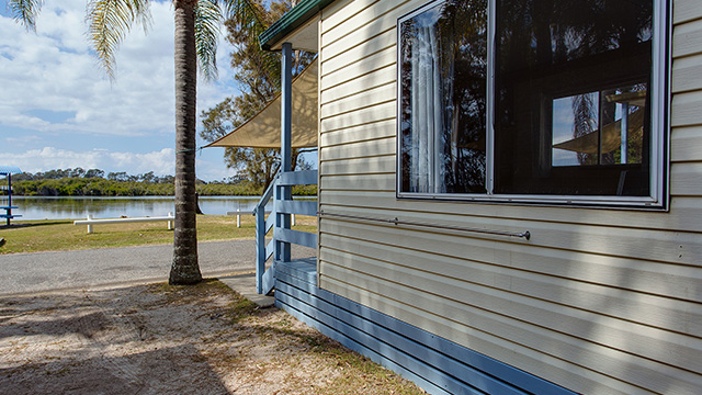 Ensuite Cabin Stuarts Point Holiday Park NRMA Holiday Parks and Resorts NSW