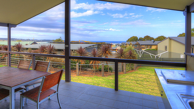 Porch View Merimbula Beach Holiday Park NRMA Holiday Parks and Resorts NSW