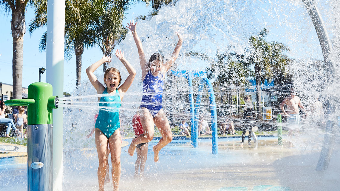 Family Pool Merimbula Holiday Park NRMA Holiday Parks and Resorts NSW