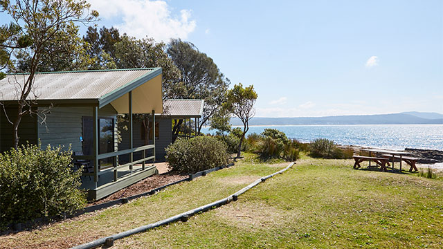 exterior villa view NRMA Murramarang Beachfront Holiday Resort NSW my nrma local guides