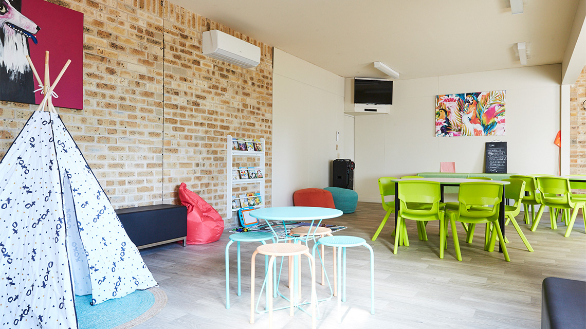 Kids Room Port Macquarie Breakwall Holiday Park NRMA Holiday Parks and Resorts NSW