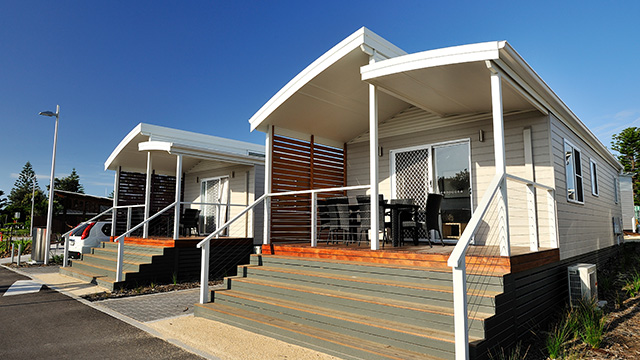 Exterior Stockton Beach Holiday Park NRMA Parks and Resorts NSW