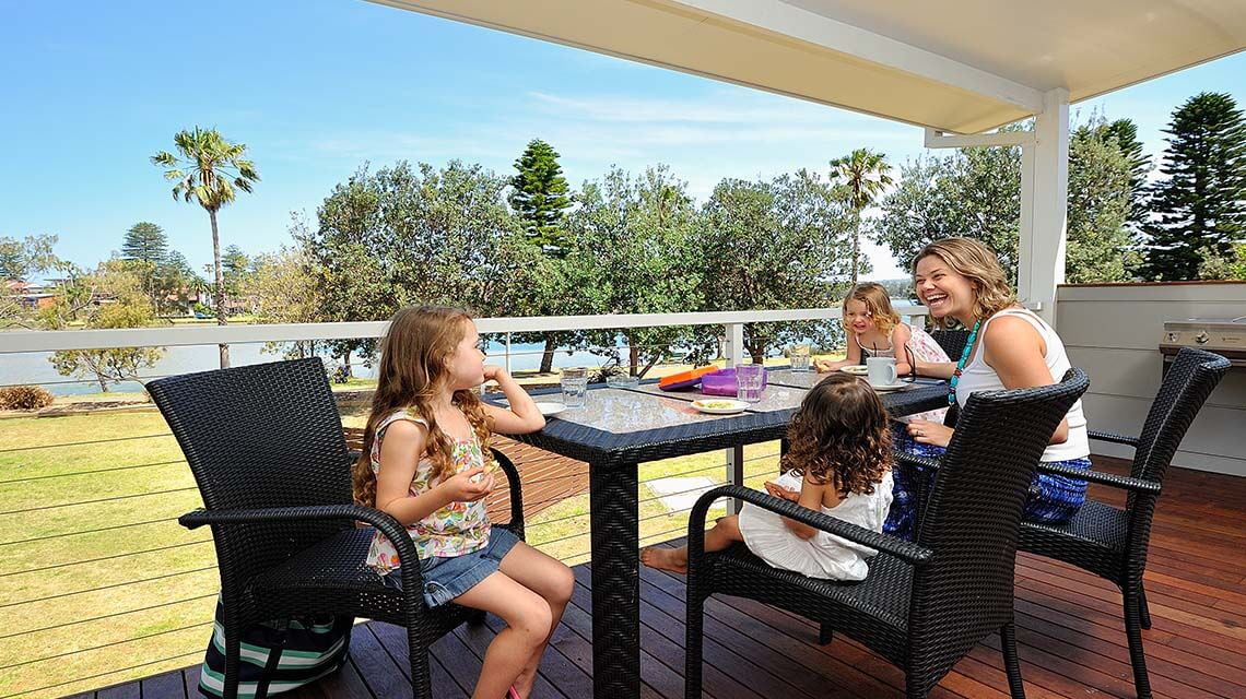 Family porchside Sydney my nrma local guides