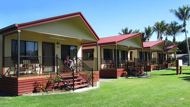 2 bedroom Family Cabin NRMA Capricorn Yeppoon Holiday Park