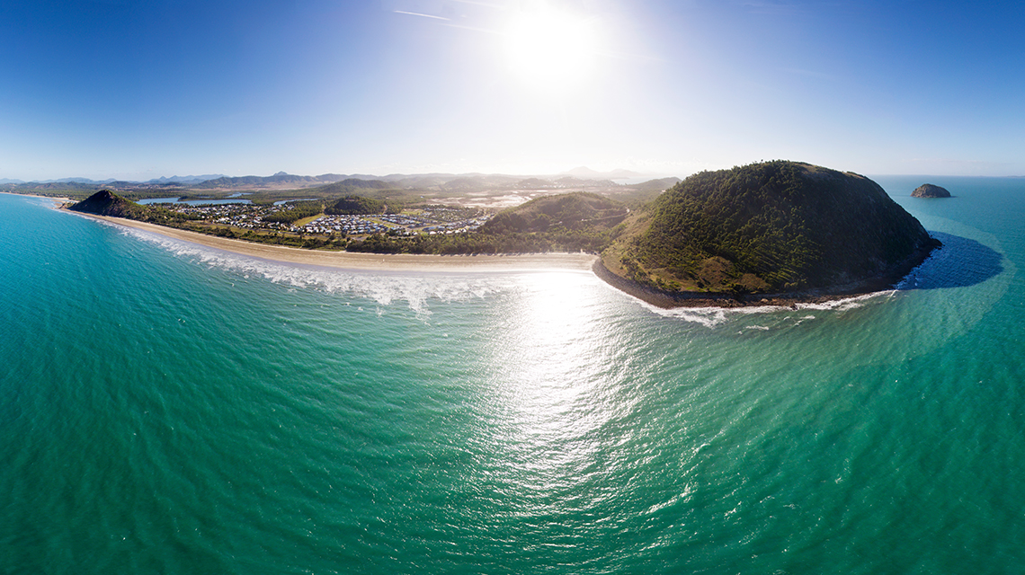 NRMA Capricorn Yeppoon aerial view
