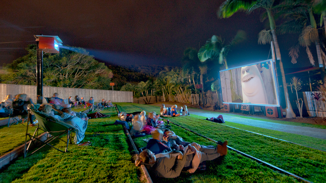 NRMA Capricorn Yeppoon open air cinema