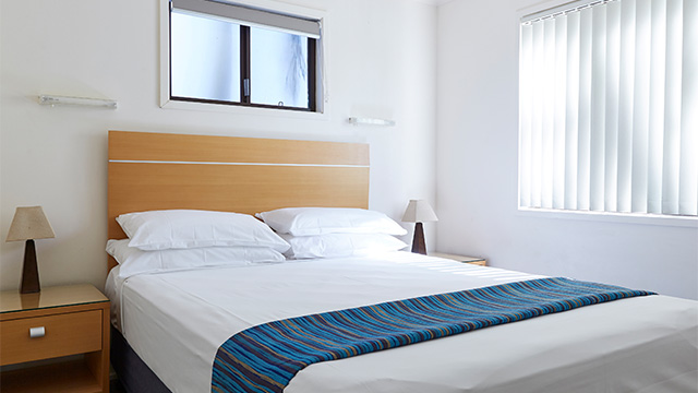 Master Bedroom Treasure Island Holiday Resort NRMA Parks and Resorts QLD