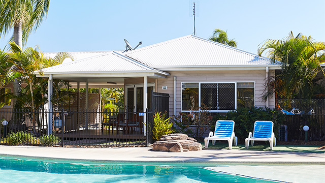 Exterior Treasure Island Holiday Resort NRMA Parks and Resorts QLD