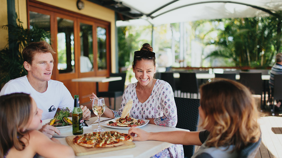 Family Pizza Treasure Island Holiday Resort NRMA Holiday Parks and Resorts QLD