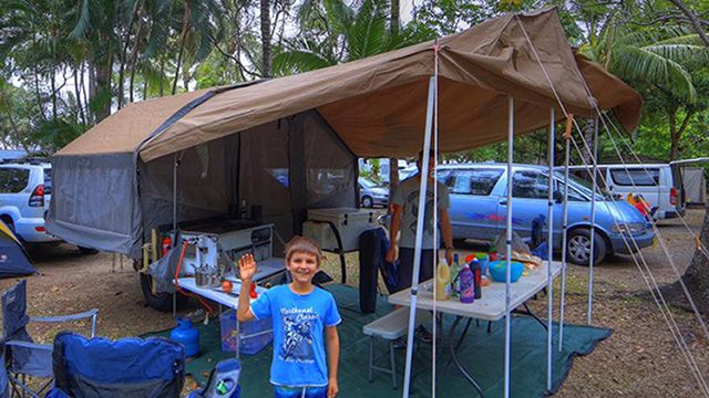 Unpowered Site Palm Cove Holiday Park NRMA Blue Member Discount