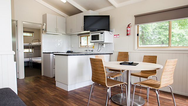 Kitchen Area Bairnsdale Riverside Holiday Park NRMA Parks and Resorts VIC