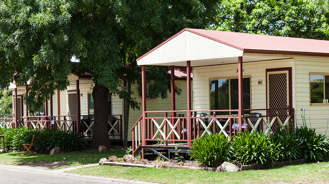 Exterior Bairnsdale Riverside Holiday Park NRMA Parks and Resorts VIC
