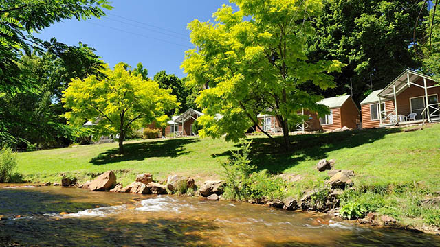 riverside villa NRMA Bright Holiday Park Victoria my nrma local guides