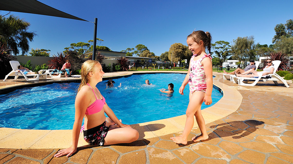 Pool Eastern Beach Holiday Park NRMA Parks and Resorts VIC