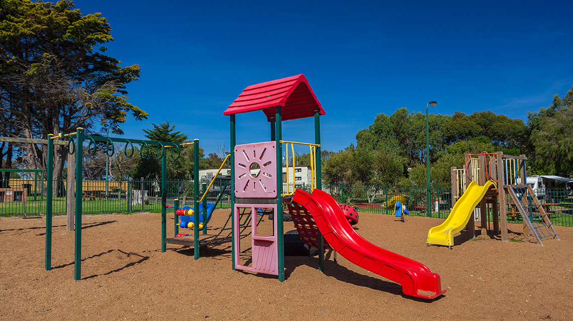 Playground Portland Bay Holiday Park NRMA Parks and Resorts VIC