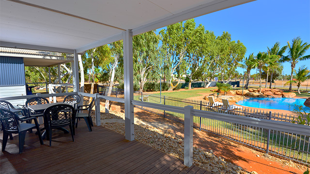 Porch View RACV NRMA Holiday Parks and Resort WA