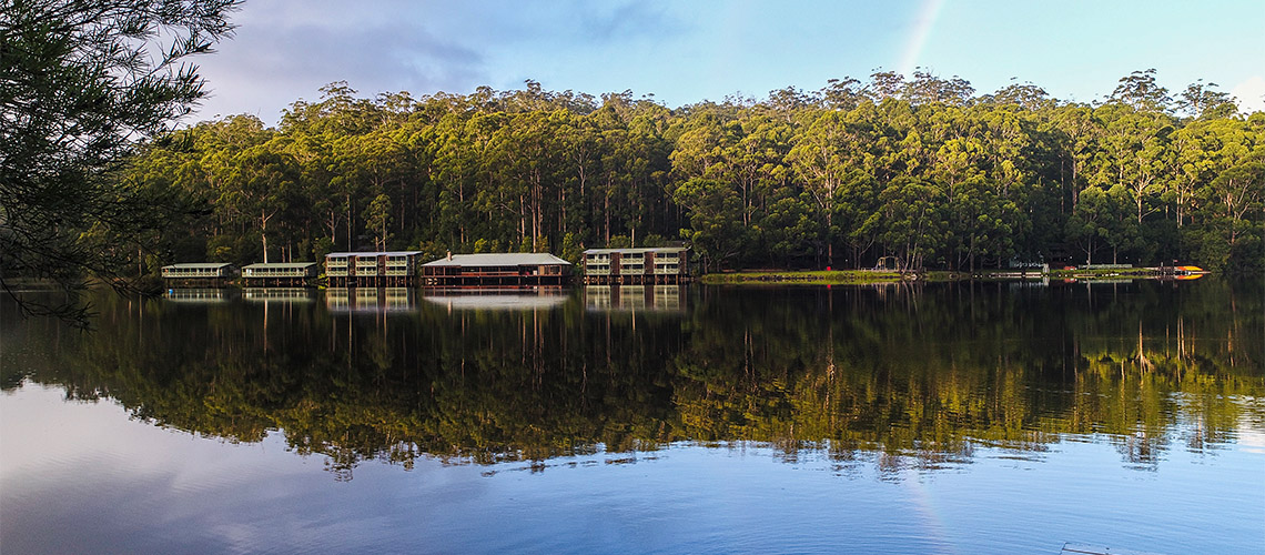 Lake Beedleup Karri Valley NRMA Holiday Parks and Resorts WA