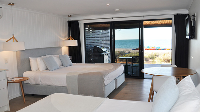 Superior Beach View Room Monkey Mia RACV NRMA Holiday Parks and Resorts WA