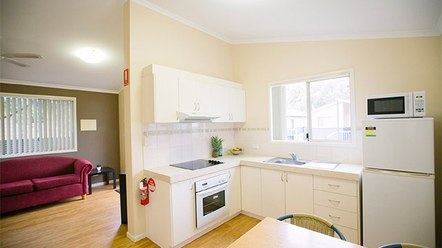 Kitchen Busselton NRMA Holiday Parks and Resorts WA