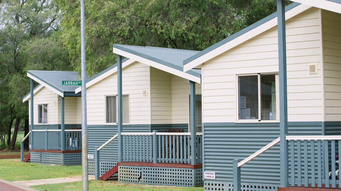 Cabins Busselton Holiday Park NRMA Holiday Parks and Resorts WA