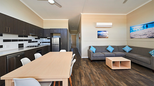 Cabin Interior RAC Cervantes NRMA Holiday Parks and Resorts WA