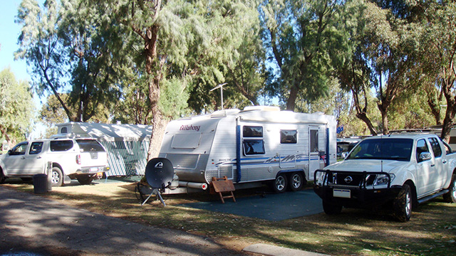 Powered Site Cervantes Holiday Park NRMA Holiday Parks and Resorts WA