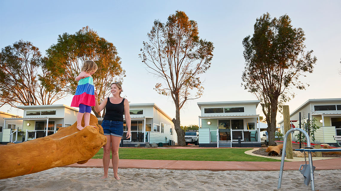 Playground RAC Cervantes NRMA Holiday Parks and Resorts WA