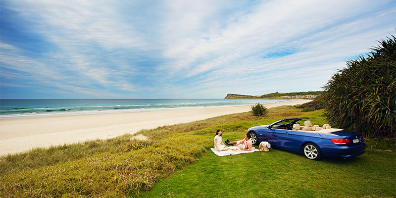 Lennox Head Sydney to Brisbane in three days my nrma road trips