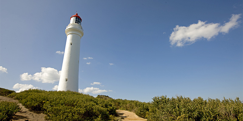 Split Point Lighthouse Melbourne to Adelaide in 6 days road trip my nrma road trips