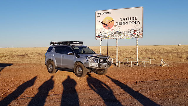 Northern Territory road trip