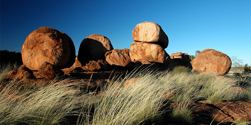 Devils Marbles Conservation Reserve Adelaide to Darwin in 14 days my nrma road trips