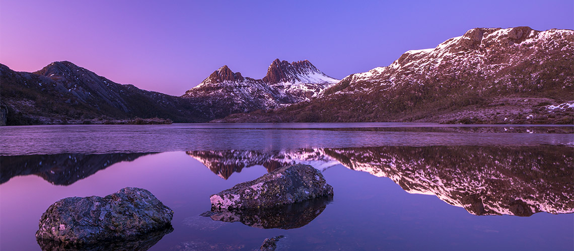 Snow Cradle Mountain Around Tasmania in 12 days my nrma road trips