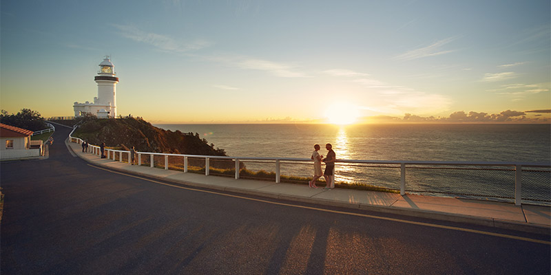 Byron Bay Lighthouse Hinterlands in Four Days my nrma road trips