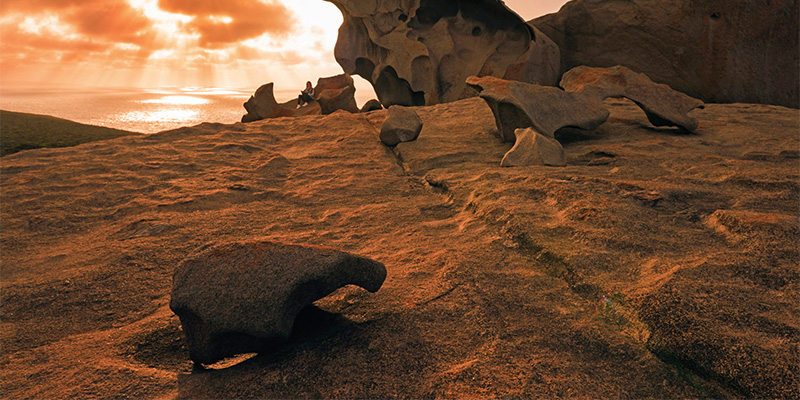 Remarkable Rocks Granite Island South Australia Limestone Coast in Four Days my nrma road trips