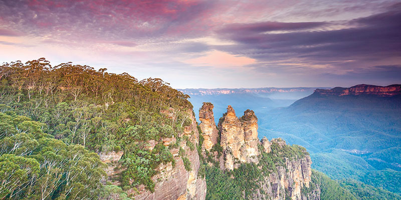 Three Sisters Blue Mountains Adelaide to Sydney my nrma road trips