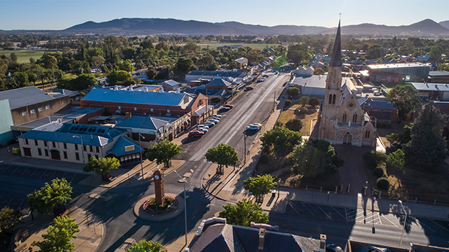 Mudgee streetscape Credit DNSW