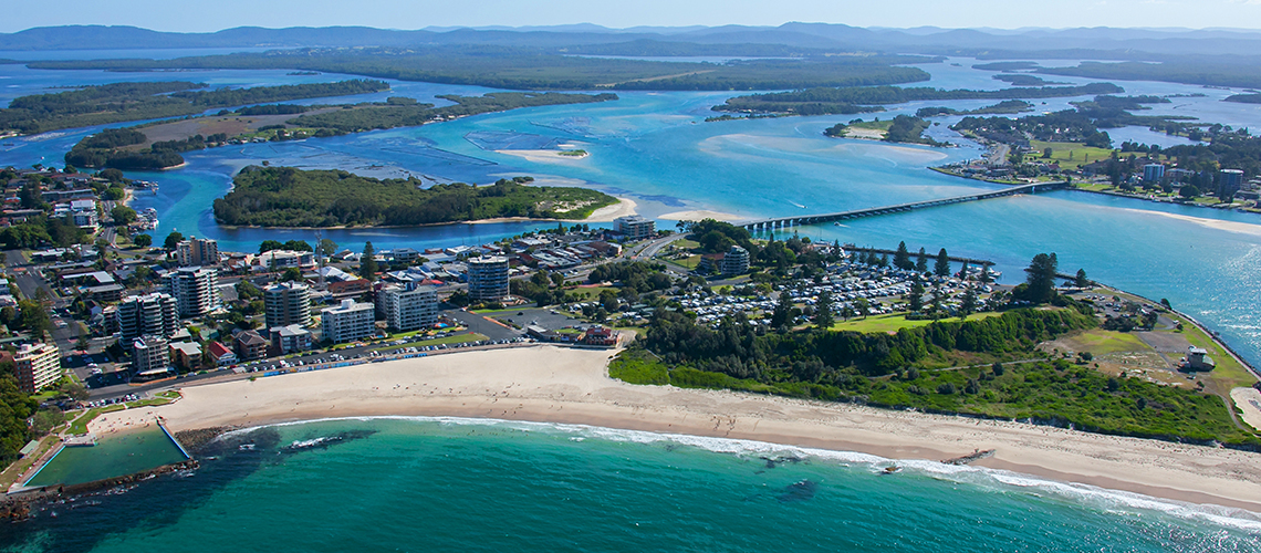 Forster Beach Forster, Credit Destination NSW
