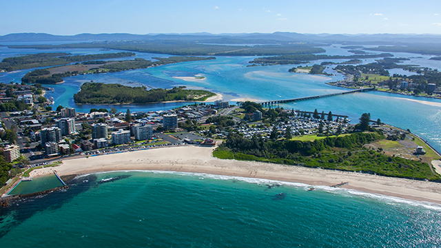 Forster Beach Forster Credit Destination NSW