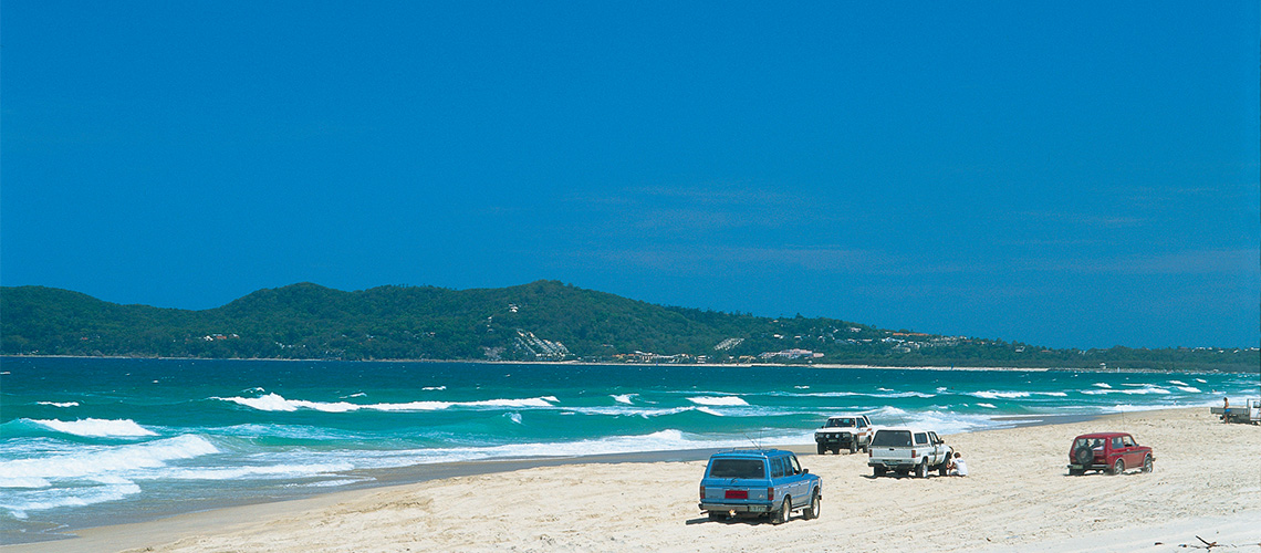 Forty Mile Beach Great Beach Drive my nrma road trips