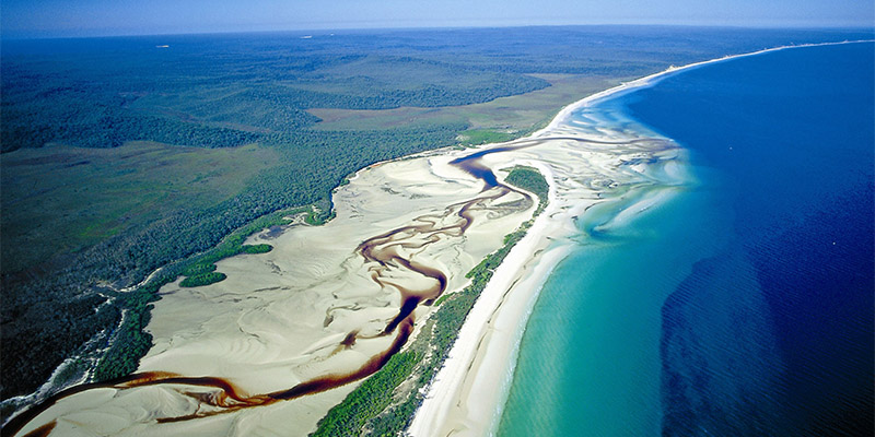 Fraser Island Great Beach Drive my nrma road trips
